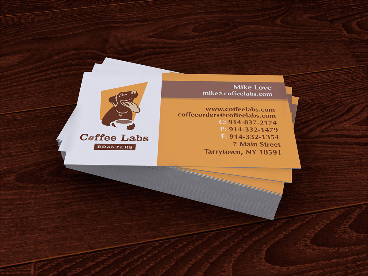 Coffee Labs Business Cards