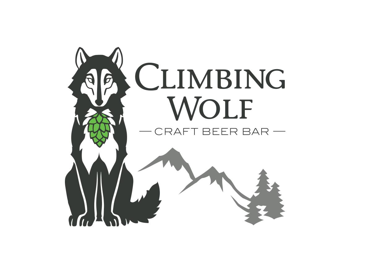 Climbing Wolf Logo