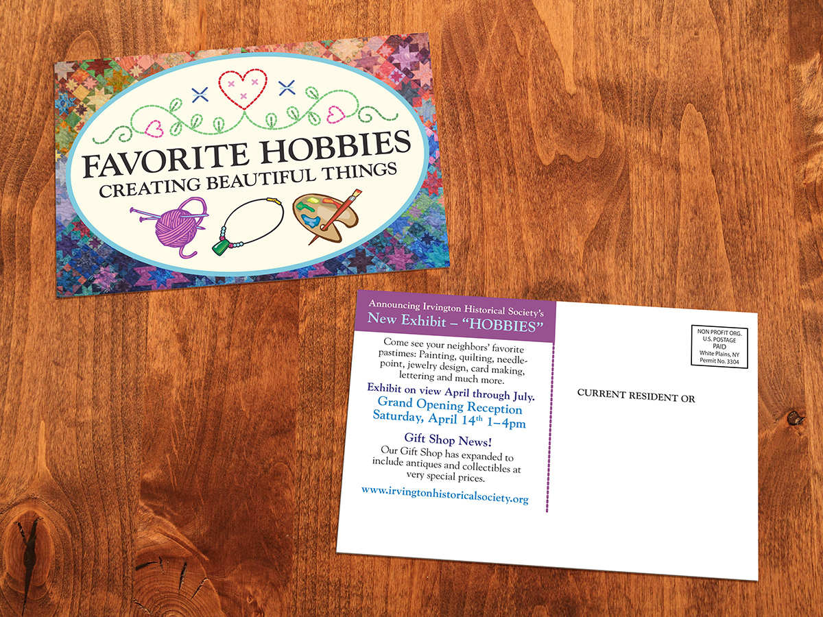 Favorite Hobbies Postcards