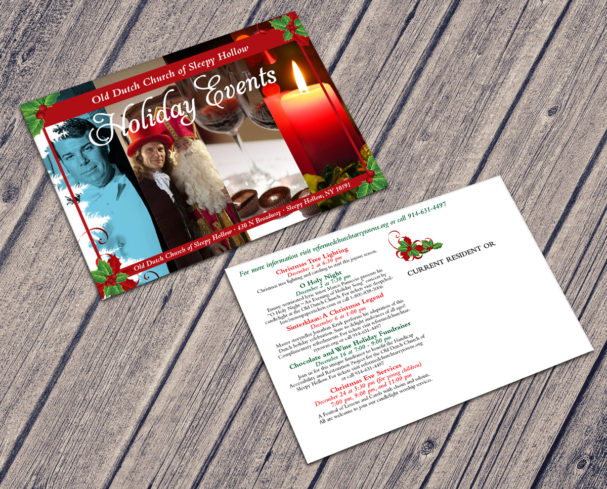 Holiday Events Card