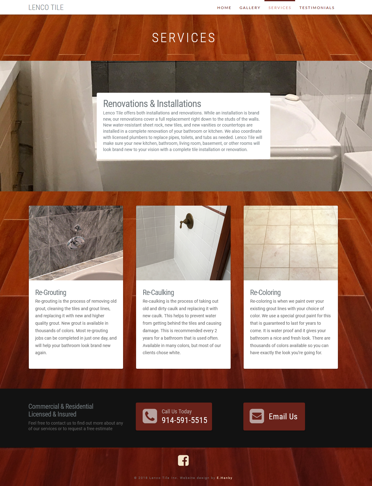Lenco Tile Website