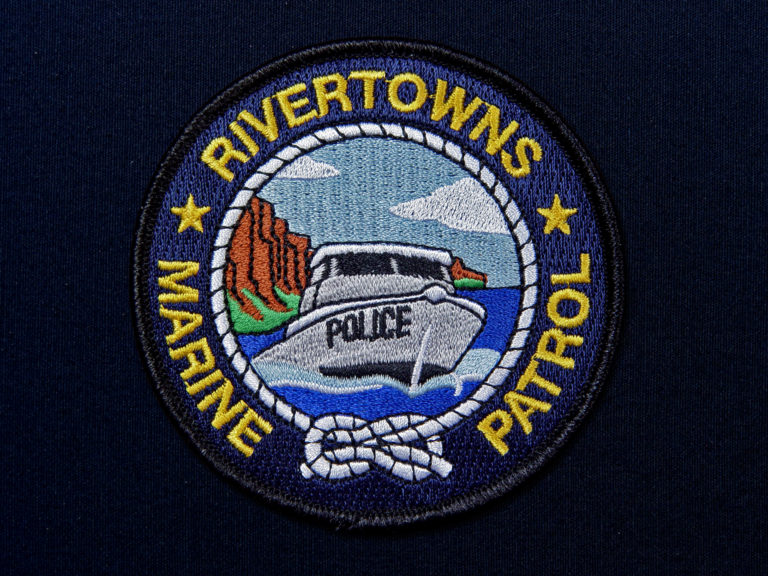 Rivertowns Marine Patrol Patch