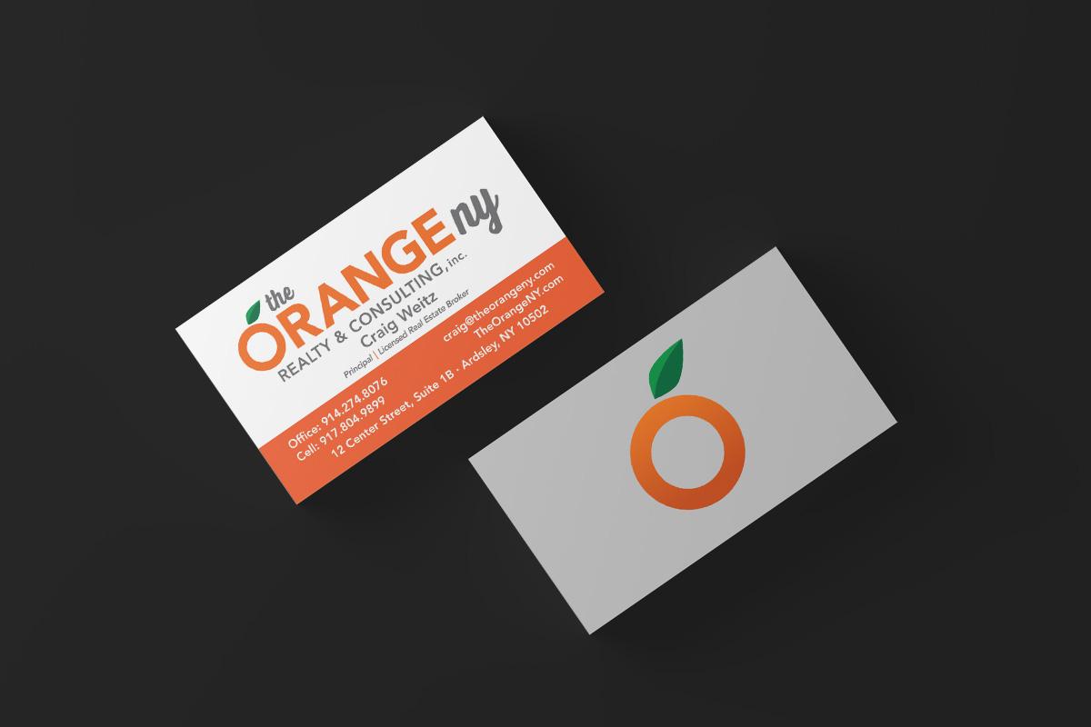 The Orange NY Business Cards