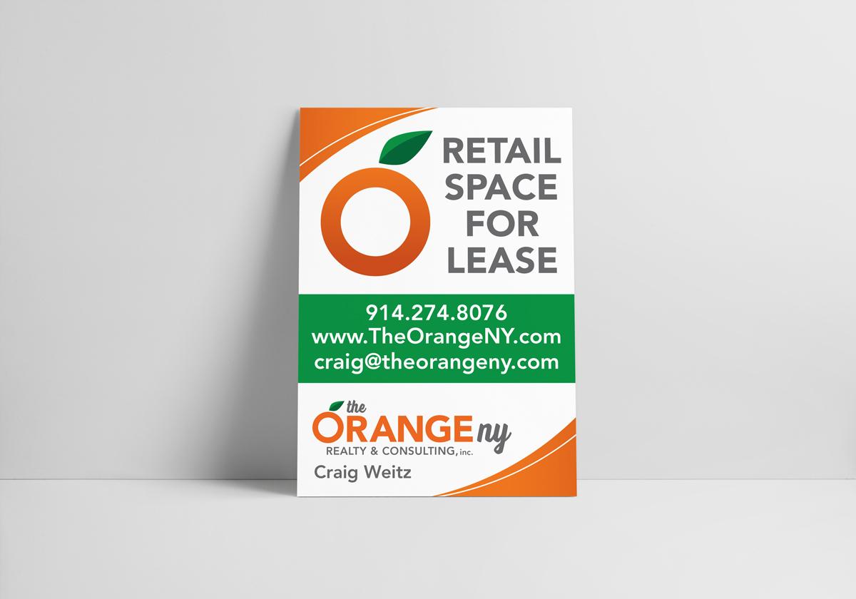 The Orange NY Sign