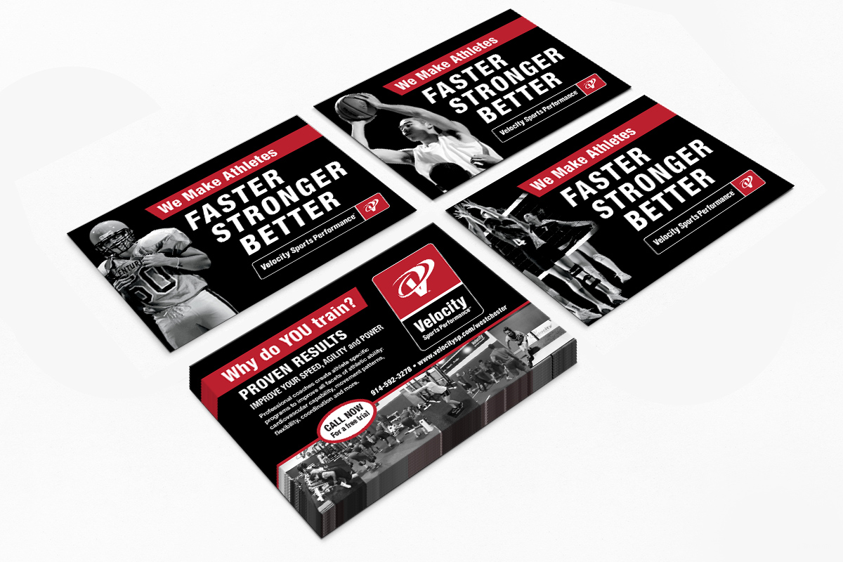 Velocity Sports Performance Postcards