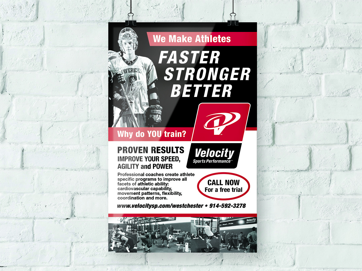 Velocity Sports Performance Poster